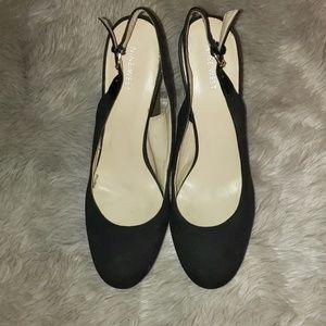 Nine West wedged heels